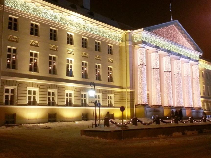 Julpyntat universitet