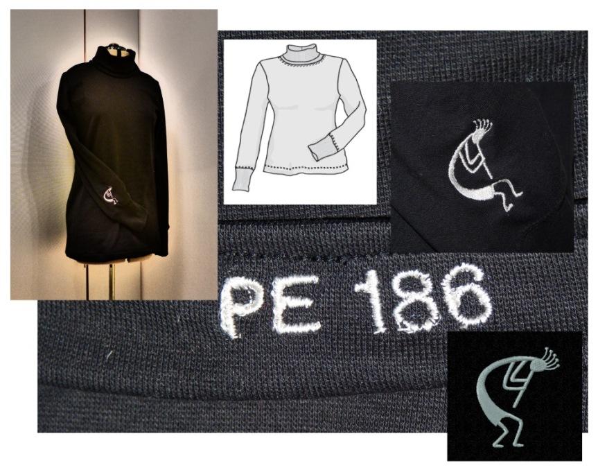 186 Svart Polo