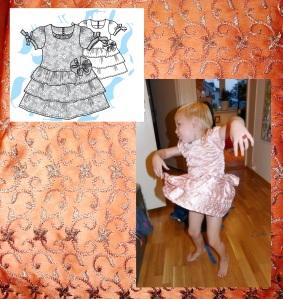 Syprojekt 199, Prinsessklänning