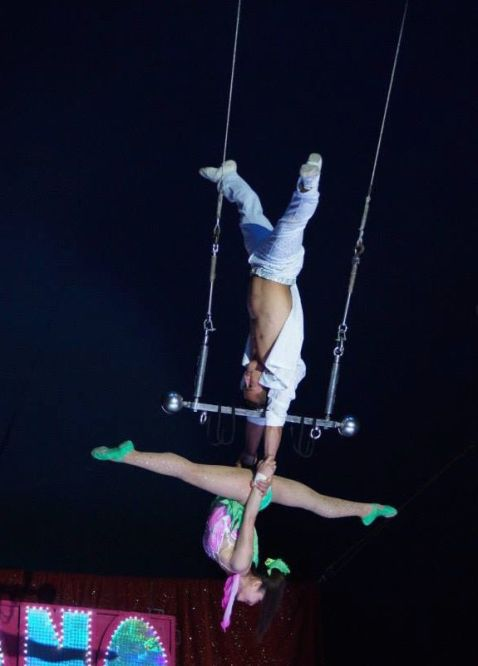 Duo Thu Hiep, bild från www.cirkusmaximum.se