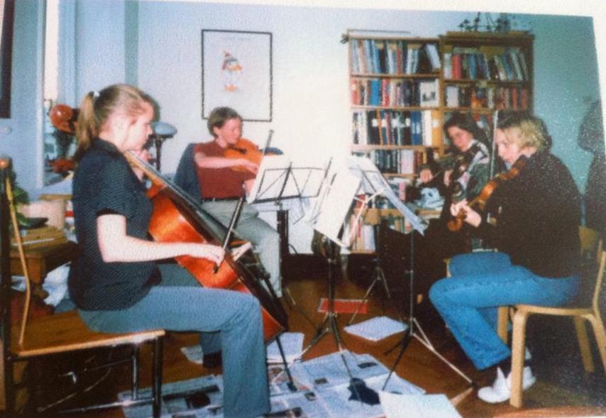 Kvartetten Ocra ca 1997