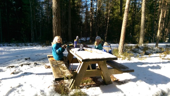 Lunch i solskenet