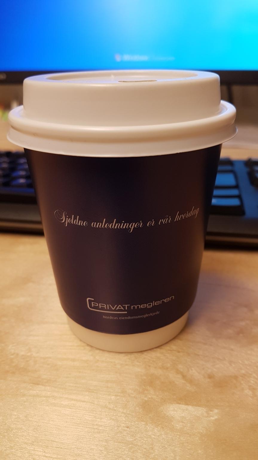Morgonkaffe från Privatmegleren
