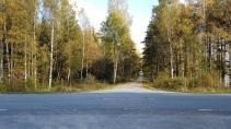 Plats för övergångsställe för vilt med viltvarningssystem