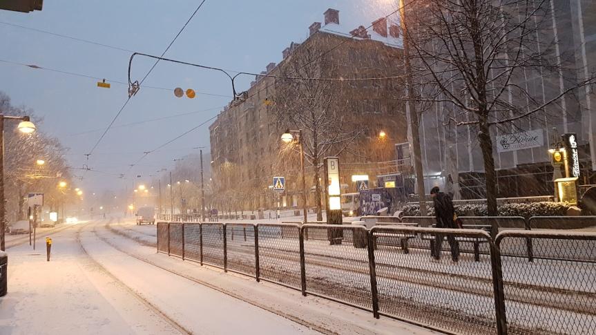 Då har vi haft vinter iGöteborg!