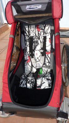 Syprojekt 116 Sittdynor till cykelvagnen