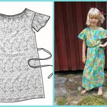 Syprojekt 295 Flortunn klänning