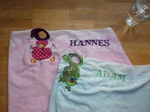 Syprojekt 195 & 196 Märkning av handdukar