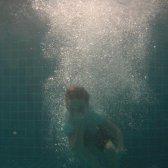 Arvid. Första trevande försök med undervattenskameran.